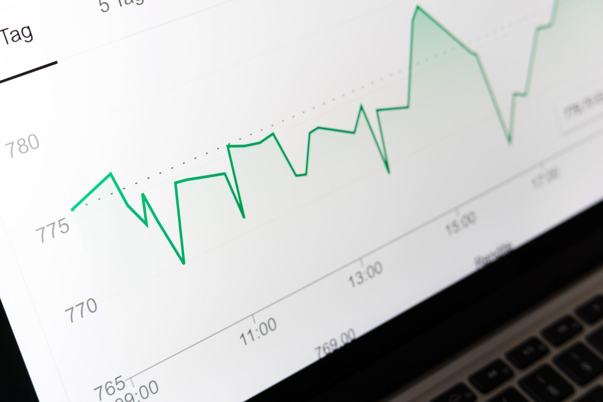 Investera på börsen för att få pengarna att växa